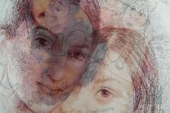 Pasado-y-presente-lapiz-pastel-e-impresion-digital-30-x-40-sobre-papel-shoeller